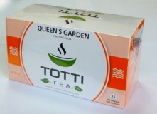 Чай фруктовый TOTTI Tea Queen's Garden (Королевский Сад) пакетированный в конвертах, 25 шт.