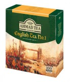 Чай черный Ahmad Ceylon Tea (Ахмад Цейлонский чай), пакетики с ярлычками,100 саше по 2г.