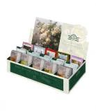 Чайное ассорти Ahmad (Ахмад), 15 вкусов, пакетики с ярлычками в конвертах из фольги. 90 саше в картонной коробке