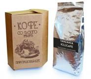 Кофе в зернах СВЕЖЕЙ ОБЖАРКИ Esperanto TANZANIA KILICAFE (Эсперанто Танзания Киликафе), моносорт, 0,5 кг, вакуумная упаковка