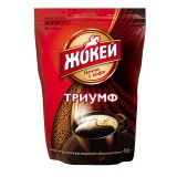 Кофе растворимый Jockey (Жокей) Триумф, 450 г., сублимированный, вакуумная упаковка