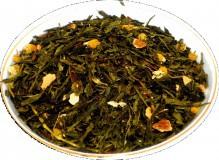 Чай зеленый Японская Генмайча, 500 г, крупнолистовой зеленый чай