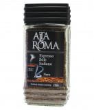 Кофе AltaRoma Nero (Альта Рома Неро) 100 г, сублимированный кофе, стеклянная банка
